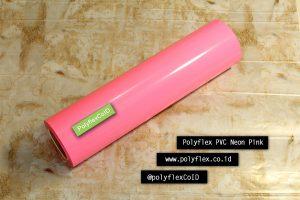 Polyflex PVC Neon Pink